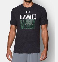 Men's Hawai'i UA Tri-Blend T-Shirt | Under Armour US