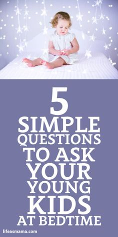 5 Simple Questions To Ask Your Young Kids At Bedtime I am going to start to do this and keep a notebook. I can't wait to hear the answers. Parenting Advice, Kids And Parenting, Little People, Little Boys, Questions To Ask, This Or That Questions, Dads, Raising Kids, My Children