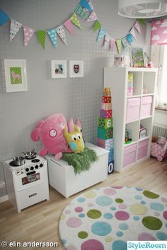 Room and playroom