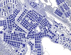 City map by Rennø