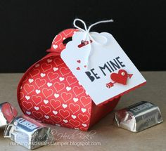 Curvy Keepsake Valentine