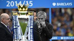 José Mourinho no dirigió nunca a un gran club una cuarta temporada, y su segunda etapa en el equipo de sus amores, el Chelsea inglés, no fue la excepción. La derrota ante el Leicester colmó la paciencia de Roman Abramovich, el propietario del club. Diciembre 17, 2015.