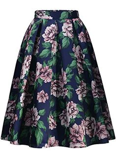 Missmay Women's Vintage Pleated Floral Print Flared Casua... https://www.amazon.com/dp/B01ERCKTKW/ref=cm_sw_r_pi_dp_x_uwMfybFVD7XHH