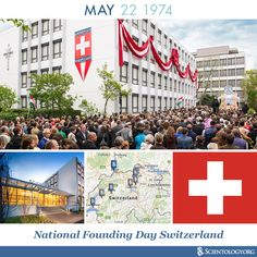 Today we recognize National Founding Day Switzerland, to celebrate the expansion of Scientology activities in this country with groups opening up in Bern, Basel and Zurich in 1974.