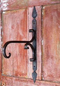 Wrought iron plant hanger by Furnacebrook on Etsy, $150.00