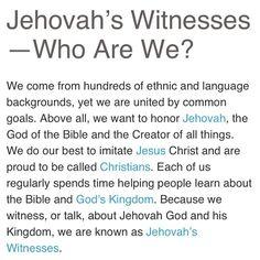 Jehovah's Witnesses @jw_encouragement (: #jw #jw_encour...Instagram photo | Websta (Webstagram)