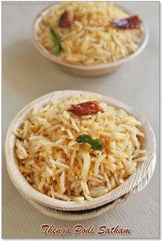 Coconut Podi Rice