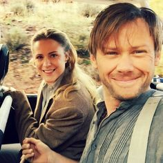 William and Dolores take a selfie :)
