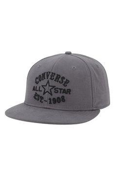 Men's Converse Snapback Cap - Grey