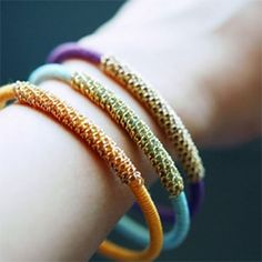 Friendship Wrapped Bracelets
