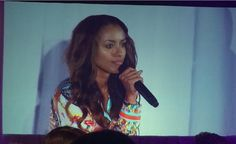 Kat Graham at Day 2 for #BloodyNightCon_Spain in Barcelona (06/07/15)