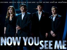 """The release date of """"Now You See Me"""" is May 31, 2013 in US movie theatres."""