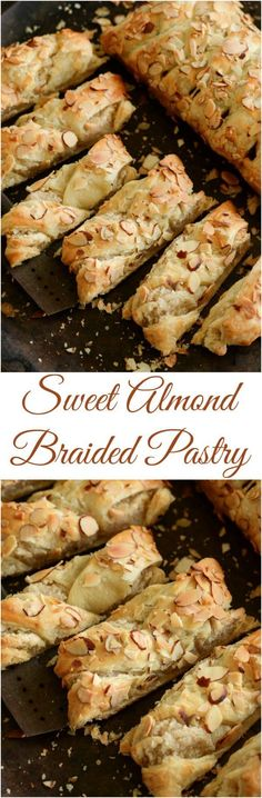 Sweet Almond Pastry: best served warm for breakfast! Perfect Brunch food!