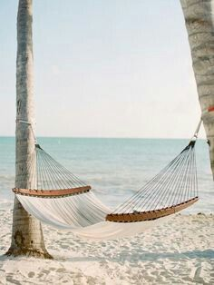 Take a nap in a hammock on the beach