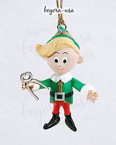 dental+ornaments | ... hermey the elf with dentist pliers ornament from the rankin bass movie