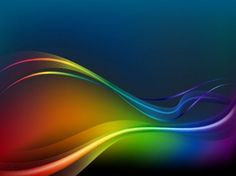 Colorful Waves and Lines Vector Background