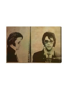 This is AWESOME. | Elvis Mugshot - Gilt Home
