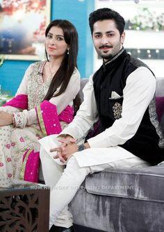 ayeza and danish in jago pakistan jago morning show