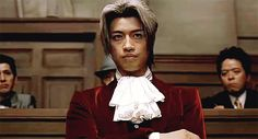 Phoenix Wright Ace Attorney Movie - Edgeworth snapping his fingers