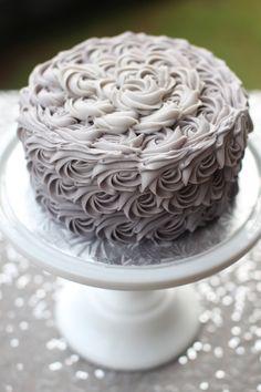 Wedding Rose Cake | Wedding Dessert Table | Starbird Bakehouse