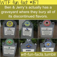 ben and jerrys graveyard MORE OF WTF-FUN-FACTS are coming HERE icecream and weird factsONLY