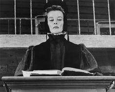 Katharine Hepburn as Portia in Merchant of Venice