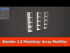 Blender modeling for beginners : Array modifier - BlenderNation Blender Models, Blender 3d, Principles Of Animation, 3d Computer Graphics, Blender Tutorial, 3d Tutorial, Bar Chart, Tutorials, 3d Modeling