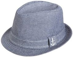 This nautical themed fedora makes a great, stylish spring/summer hat for both boys and girls.