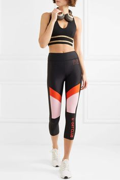 If you haven't tried shopping Australian fitness brand P.E Nation yet, now's the time. Launched in 2016 by two women, Pip Edwards and Claire Tregoning, the Fitness Brand, Fitness Apparel, High Intensity Workout, Workout Pants, Black Leggings, Fun Workouts, Athleisure, Pip Edwards, Fitness Pants