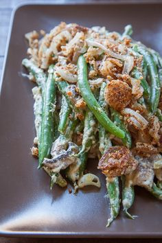 Looking for a Green Bean Casserole recipe using REAL ingredients? Try this vegan, gluten free, grain free, paleo friendly recipe that tastes the best! Healthy Thanksgiving Recipes, Gluten Free Thanksgiving, Thanksgiving Side Dishes, Thanksgiving 2013, Side Recipes, Whole Food Recipes, Vegetarian Recipes, Keto Recipes, Healthy Recipes