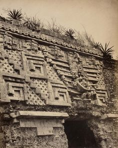 Palace of the Governor at the ancient Mayan city...