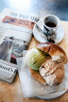 Eat ice cream for breakfast