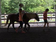 How natural horsemanship and therapeutic riding unite to create magic!