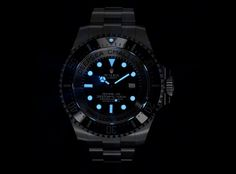 Rolex Deepsea Challenge Watch | like a submarine - water resistant up to 12,000 meters.