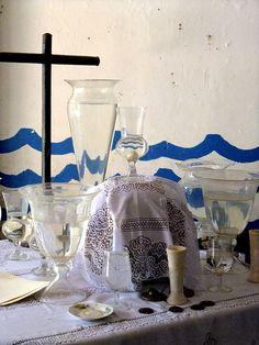 Santeria Altar for Yemaya