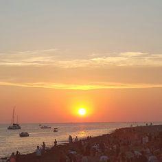 Sunset at Cafe Mambo Ibiza