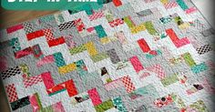 My Step in Time Quilt  was originally published in Australian Homespun magazine, early 2012. It's a fun and easy quilt to make and perfect ...