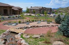When Timberline was asked to landscape a Colorado version of a Zen garden, some changes needed to be made to accommodate our unpredictable climate and wildlife around the area. Landscape Plans, Landscape Design, Garden Design, Front Yard Landscaping Plans, Garden Landscaping, Residential Landscaping, Yard Maintenance, Water Wise, Amazing Gardens
