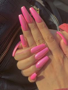 What manicure for what kind of nails? - My Nails Bright Summer Acrylic Nails, Best Acrylic Nails, Summer Nails, Sexy Nails, Dope Nails, Nail Polish, Dream Nails, Nails Inspiration, Pretty Nails