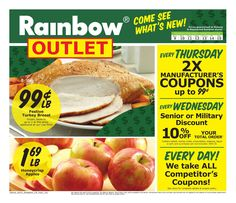 Rainbow Weekly Ad October 9 - 15, 2016 - http://www.olcatalog.com/rainbow/rainbow-weekly-ad.html