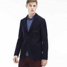Effortlessly elegant with our Lacoste jacket for men.