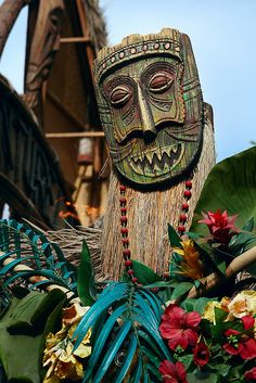 Disneyland Tiki Room by MadnessTakesItsToll, via Flickr
