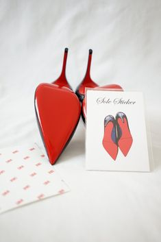 737b6e3512d Quick and easy solution to protecting your beautiful red sole of your Christian  Louboutin heels.