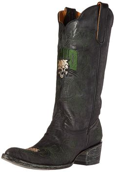 NCAA Ohio Bobcats Women's 13-Inch Gameday Boots >>> Trust me, this is great! Click the image. : Cowgirl boots