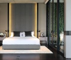 Home Decorating Idea Phot Contemporary Bed 68