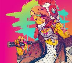 Hotline Miami: Jacket by TheNinjaYaiba