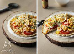 Диетическая пицца   Food Book