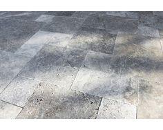 Flairstone Travertin Terrassenplatte Genua römischer Verband Set=1,48m² (nur Lagenweise erhältlich) bei HORNBACH kaufen
