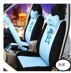 New Stitch Car Seat Covers Accessories Set 19PCS Plush D in eBay Motors, Parts & Accessories, Car & Truck Parts | eBay