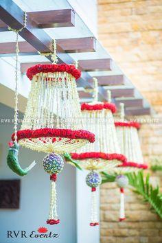 Destination Wedding Event Planning Ideas and Tips Diy Diwali Decorations, Festival Decorations, Flower Decorations, Marriage Hall Decoration, Wedding Hall Decorations, Decoration For Ganpati, Mehndi Decor, Flower Rangoli, Entrance Decor